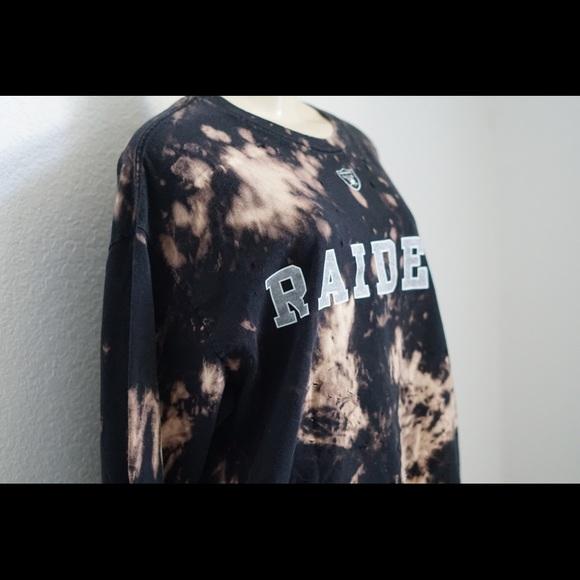 Raiders bleached tee